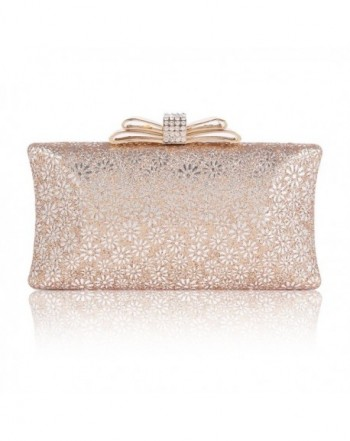 Damara Hardcase Glitter Cut out Champagne