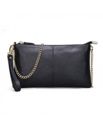 Leather Clutch Handbag Crossbody Wallets