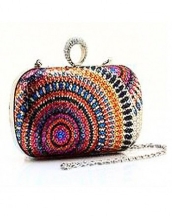Evening Rhinestone Cocktail Handbag Detachable