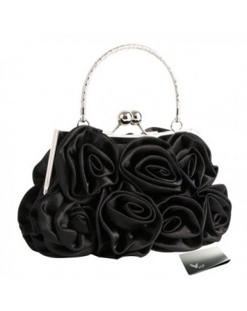 Missy Roses Clutch Purse Closure
