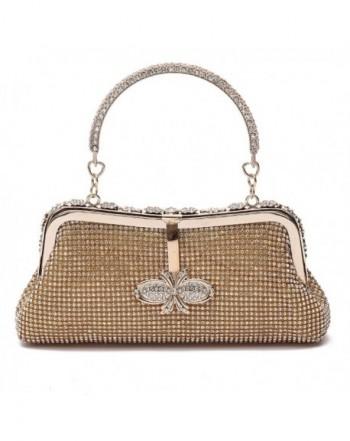Ali Victory Butterfly Rhinestone Handbags