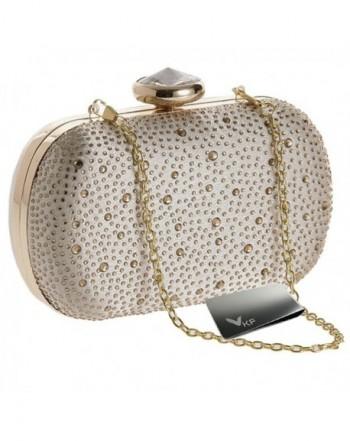 kilofly Clutch Handbag Rhinestone Crystal