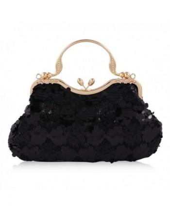 Damara Sequins Overlay Evening Handbags