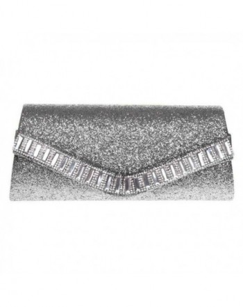 Fashion Evening Rhinestone Envelope Glitter