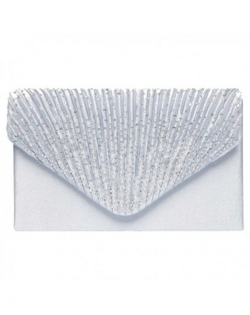Color Scissor Evening Rhinestone Envelope