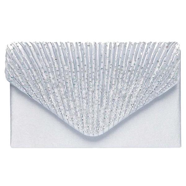 Color Scissor Evening Rhinestone Envelope