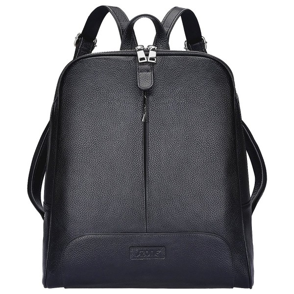S ZONE Genuine Leather Backpack Upgraded