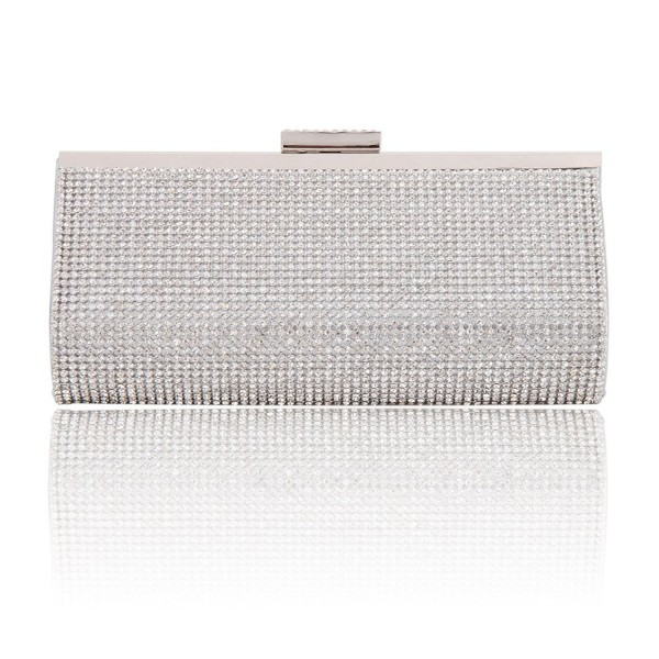 Damara Womens Crystal Clutch Evening