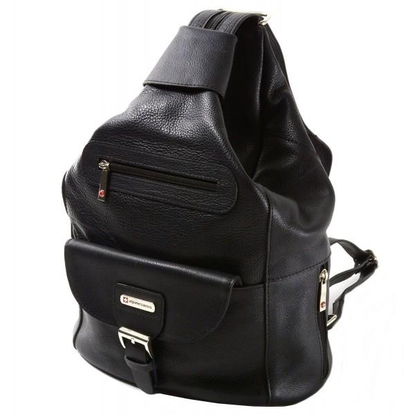 Alpine Swiss Genuine Backpack Handbags