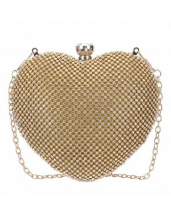 Onfahion Womens Rhinestone Evening Handbag