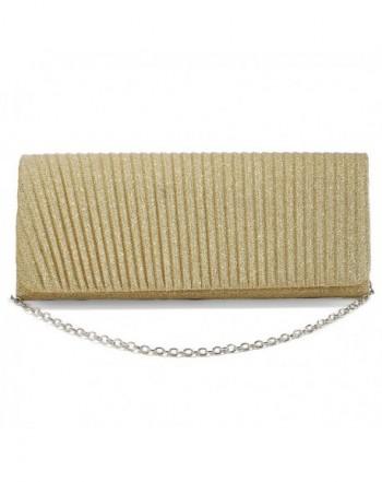 Clutch Glitter Evening Foldover Handbag