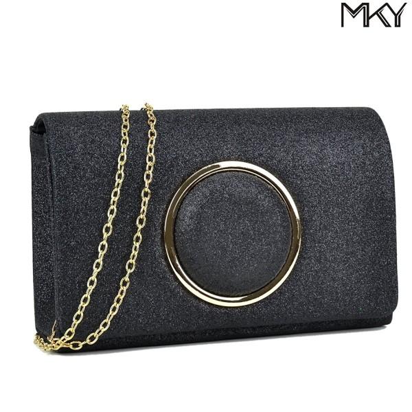 Glitter Sequin Clutch Evening Handbag