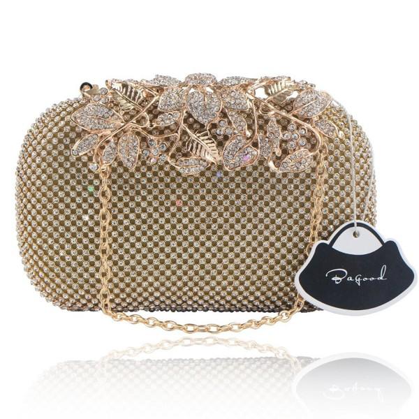 Bagood Shining Rhinestones Clutches Handbags