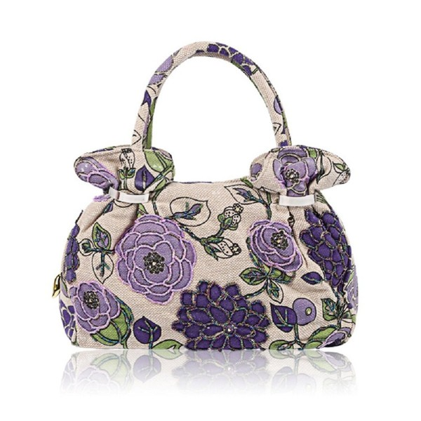 Handbag Embroidery Vintage Printing Evening