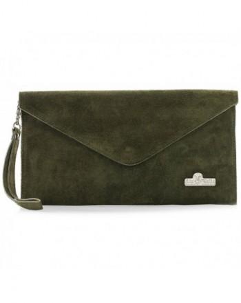 LiaTalia Italian Leather Envelope Protection
