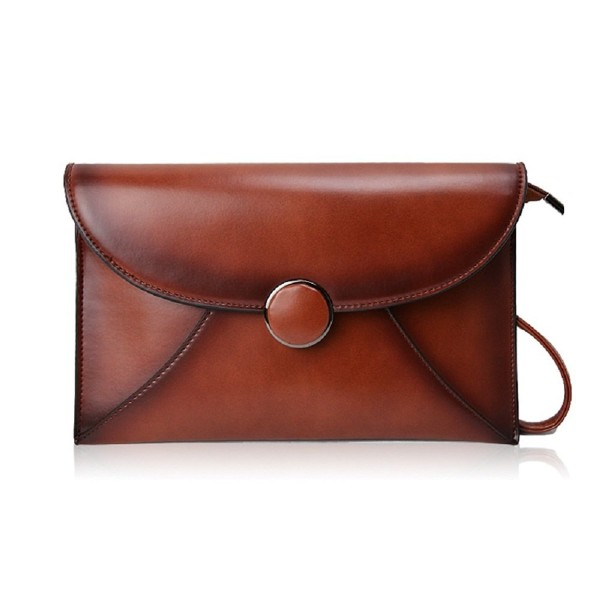 Lecxci Leather Wristlets Handbags Crossbody