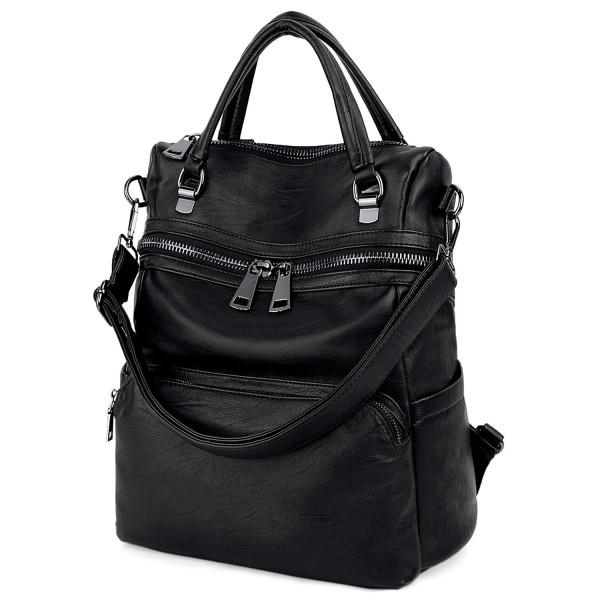 SIZE UTO Backpack Leather Rucksack Shoulder