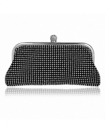 Afibi Rhinestones Crystal Evening Hangbag