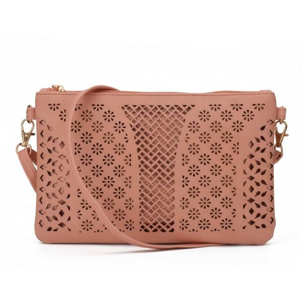 Jiaruo Vintage Leather Crossbody Handbag