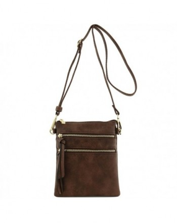 Functional Multi Pocket Crossbody Coffee