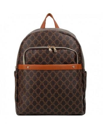 Fashion Backpack Resistant Synthetic Shoulder