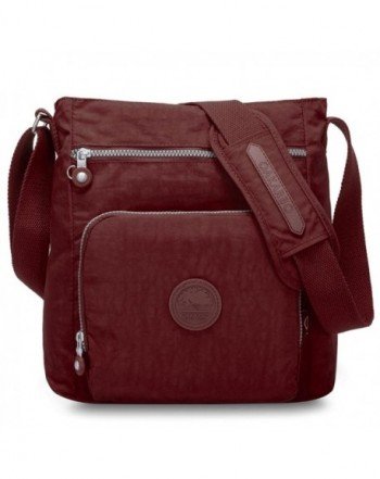 Oakarbo Crossbody Multi Pocket Shoulder red