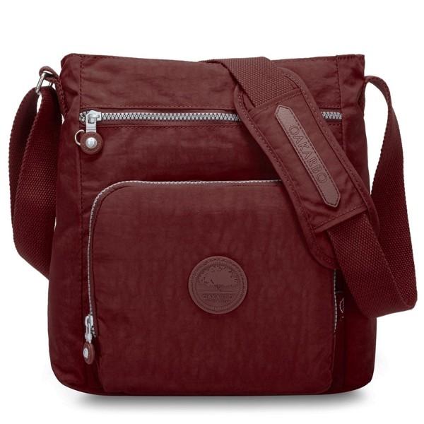 Oakarbo Crossbody Multi Pocket Shoulder red