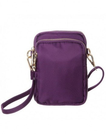 HAIDEXI Crossbody Smartphone Wallet PURPLE
