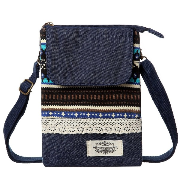 Phone Wallet Canvas National Crossbody