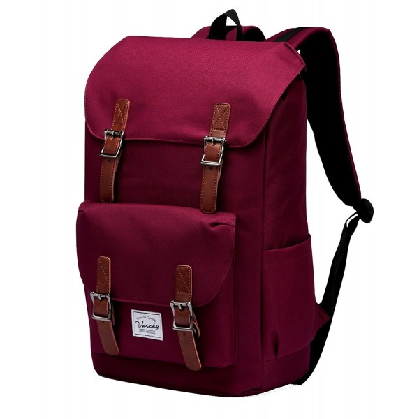 Backpack Vaschy Resistant Drawstring Burgundy