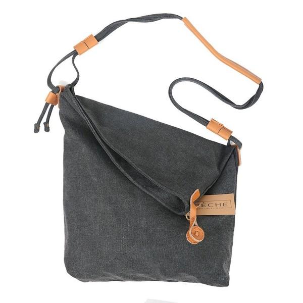 Vintage Genuine Leather Crossbody Handbag