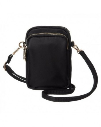 MINICAT Crossbody Smartphone Wallet Black N