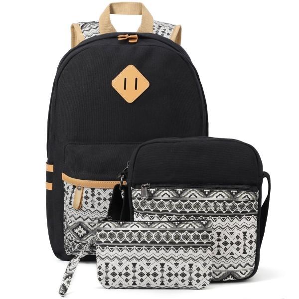 Plambag Canvas Backpack Casual Lightweight