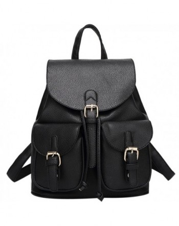 Leather Backpack Coofit Fashion Shoulder