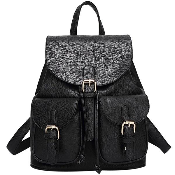 Leather Backpack Coofit Fashion Shoulder