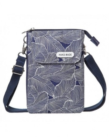 Phone Wallet Canvas Pattern Crossbody