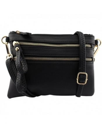 Amy Joey leather functional wristlet