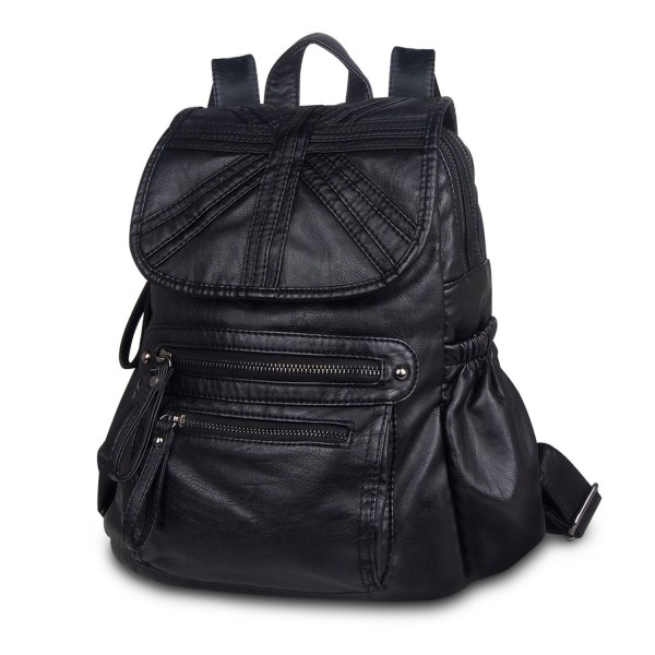 CARQI Leather Backpack School Ladies