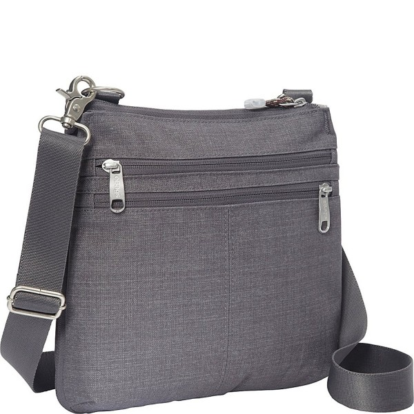 eBags Crossbody Security Brushed Graphite