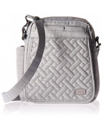 Lug Womens Flapper Brushed Silver