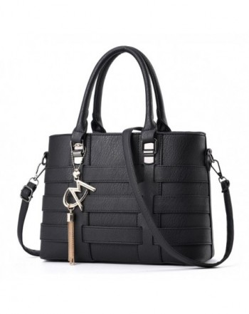 Leather Crossbody Business Handbag Satchel