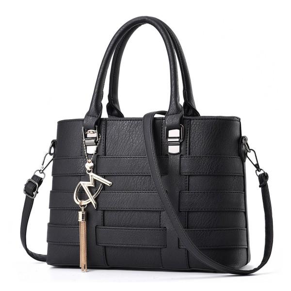 Leather Crossbody Business Handbag Satchel