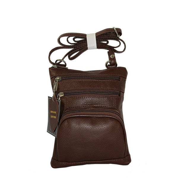Vivoi Large Multi Pocket Genuine Leather