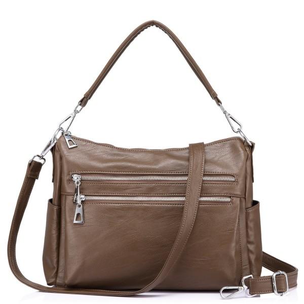 Realer Handbags Shoulder Multi Pocket Crossbody