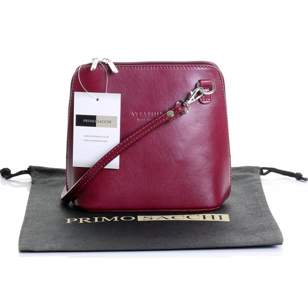 Italian Leather Shoulder Handbag Protective
