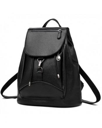 BOBILIKE Leather Backpack Shoulder Daypacks