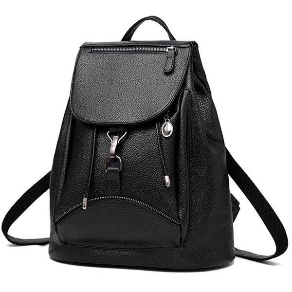 BOBILIKE Leather Backpack Shoulder Daypacks