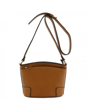 Classic Double Crossbody Light Brown