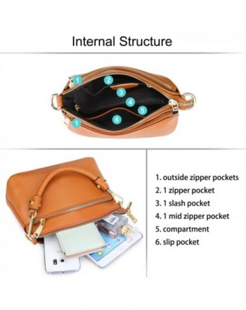 Available. S ZONE Genuine Crossbody Top handle Shoulder  Women s Crossbody  Bags ... 8e2cf747cd