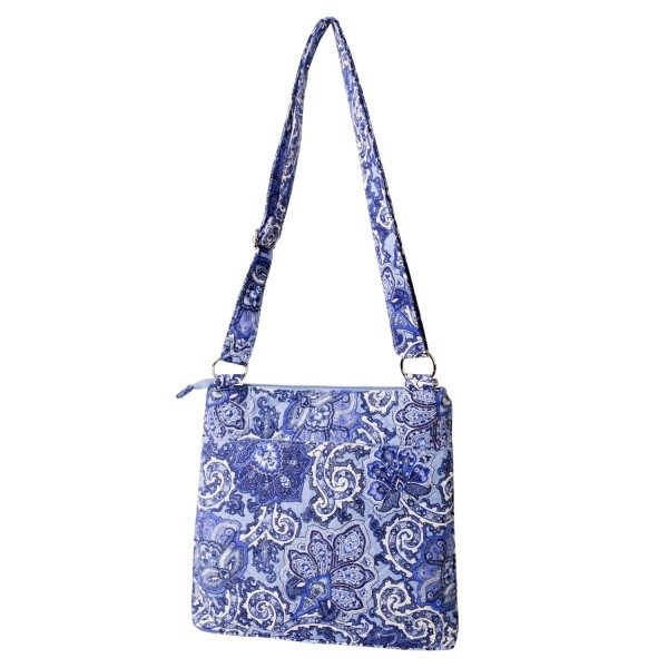 Waverly Large Crossbody Quilted Paisley